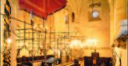 Staronová synagoga - bima a praporec