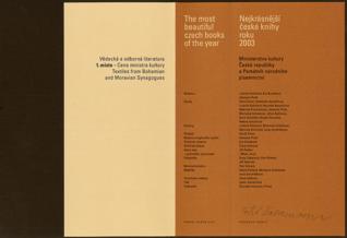 Cena ministra kultury 2003 -