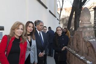 - Delegace poslanců izraelského Knesetu (2017)