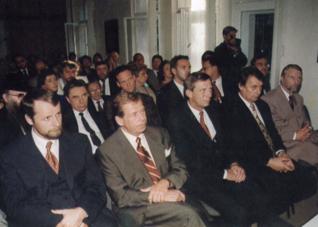 5.png - Zahájení činnosti Vzdělávacího a kulturního centra ŽMP za účasti členů vlády ČR a prezidenta Václava Havla (1996)