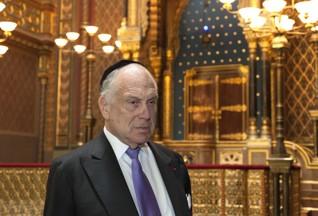 51.jpg - Předseda Světového židovského kongresu Ronald S. Lauder (2017)