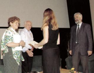19.png - Writer Arnošt Lustig, historian Deborah Lipstadt and Leo Pavlát (2004)