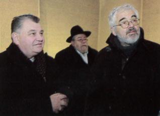 28.png - Dominik Duka, the Archbishop, Metropolitan Bishop and Primate of the Czech Republic and  Czech Republic's Chief rabbi Karol Sidon (2010)