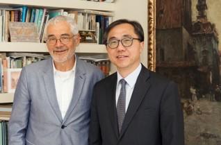 50.jpg - H. E. Ambassador of South Korea Mr. Moon Seoung-Hyun (2017)