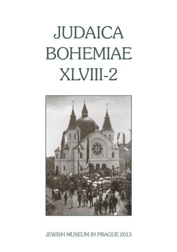 Judaica Bohemiae XLVIII-2