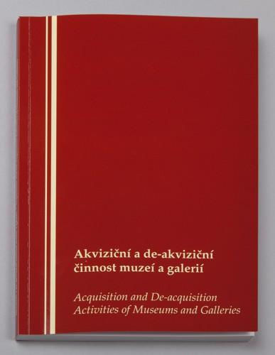 Acquisition and De-acquisition Activities of Museums and Galleries