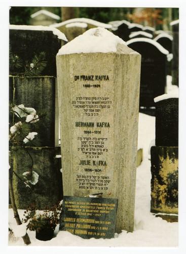Hrob Franze Kafky - na Novém žid. hřbitově