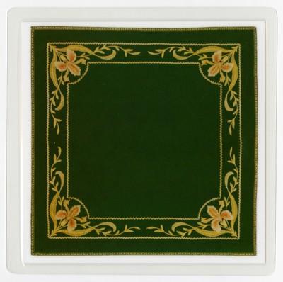Podložka pod sklenici - Secesní textílie (Jindřichův Hradec)