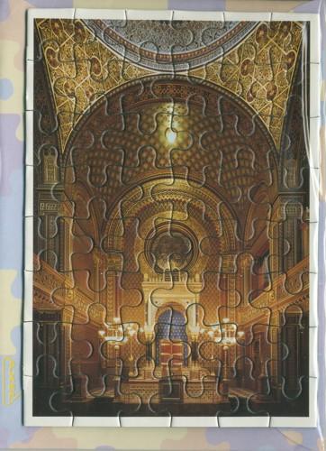 Puzzle - Španělská synagoga - svatostánek
