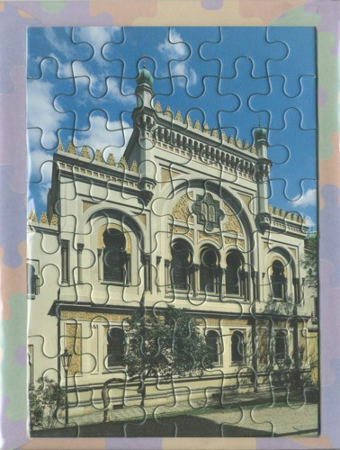 Jigsaw – Spanish Synagogue – exterior