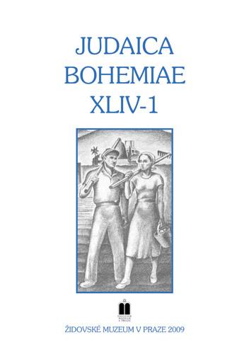 Judaica Bohemiae XLIV-1