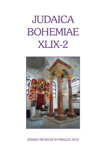 Judaica Bohemiae XLIX-2