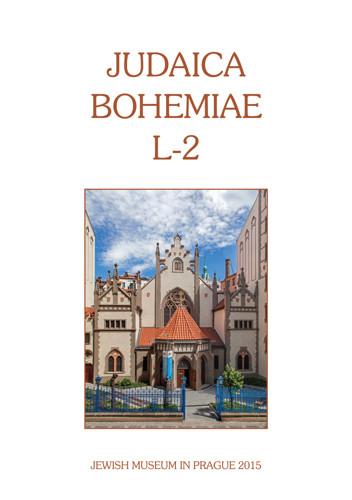 Judaica Bohemiae L - 2