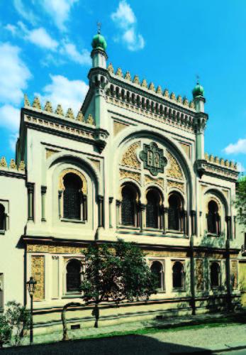 Španělská synagoga - exteriér
