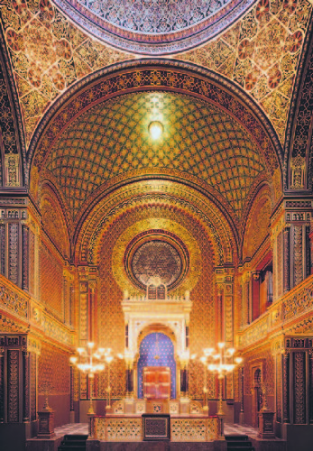 Spanish Synagogue – holy ark (vertically)