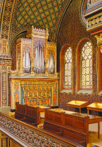 Spanish Synagogue – organ