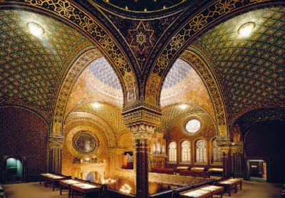 Spanish Synagogue – view from gallery