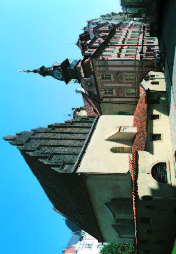 Staronová synagoga - Židovská radnice