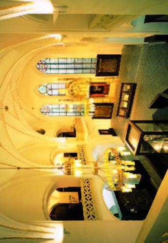 Maiselova synagoga - interiér
