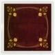 Coaster – Art Nouveau textile (Příbram))