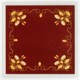 Coaster – Art Nouveau textile (Prague)