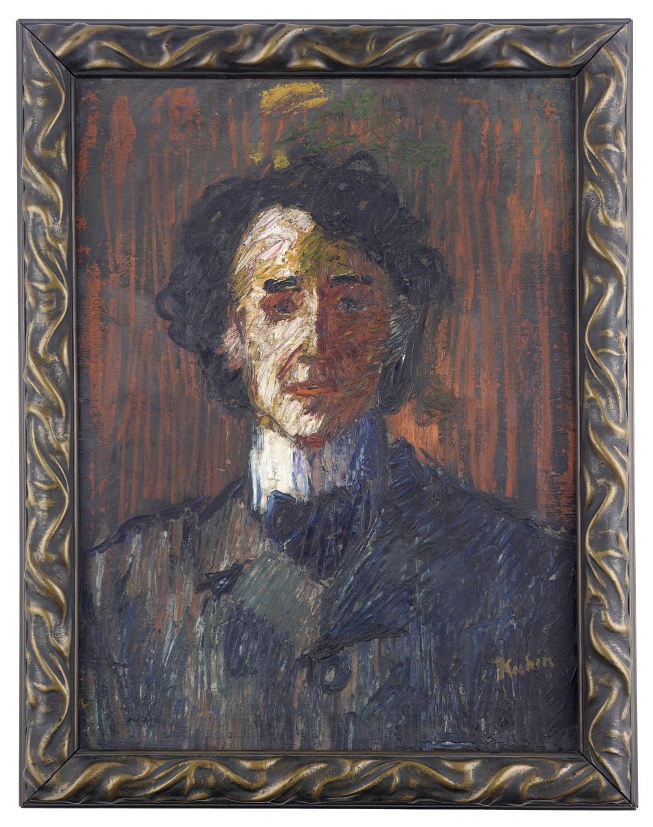 Portrét germanisty Hugo Siebenscheina (1889–1971)