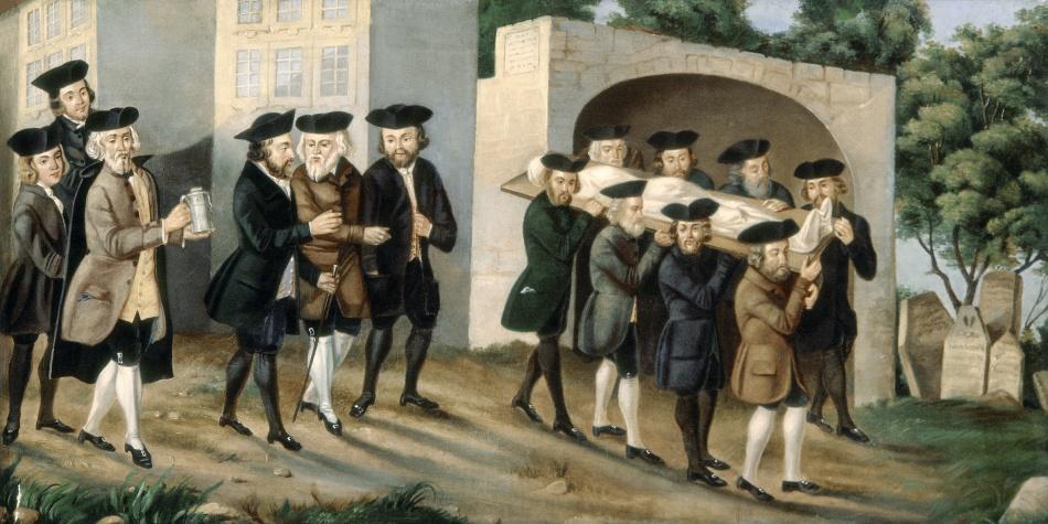 Soubor maleb pražského pohřebního bratrstva