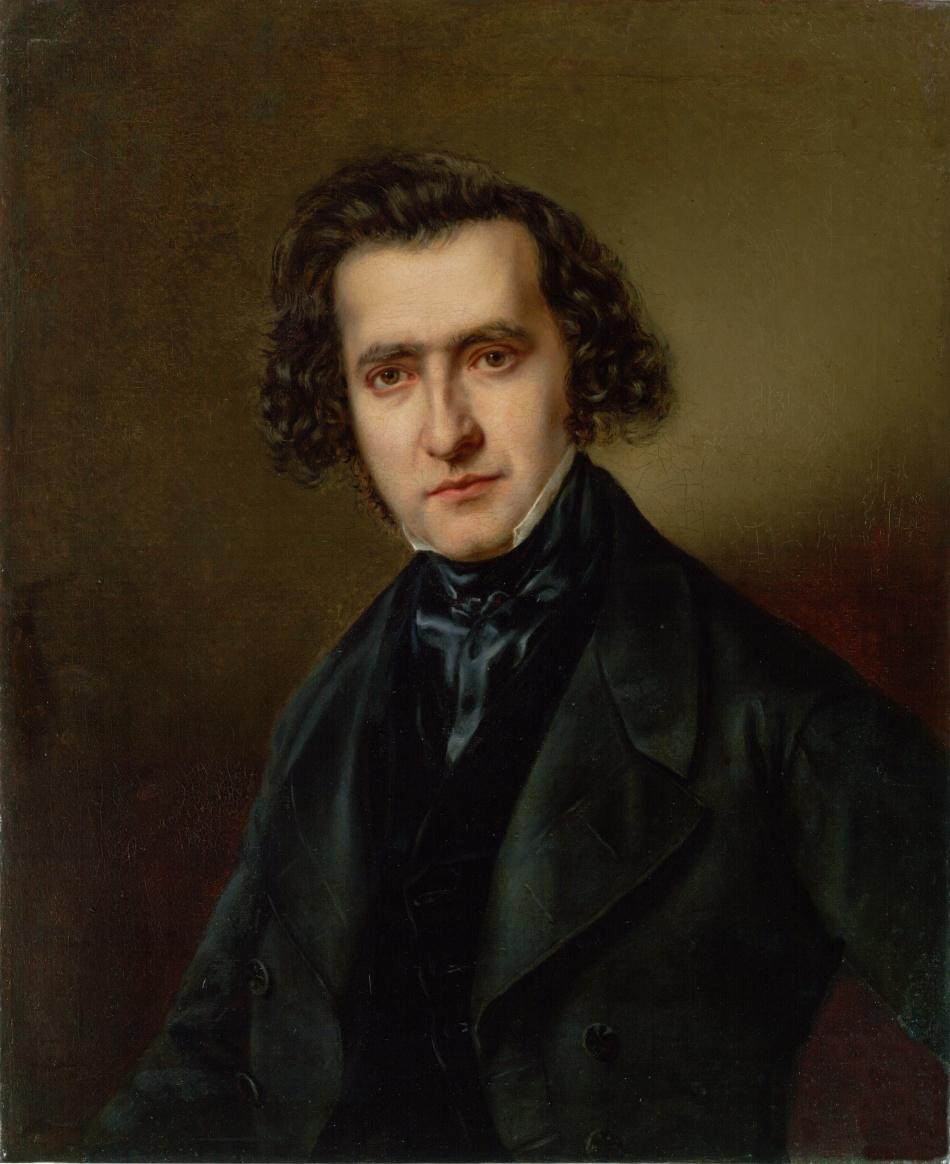 Portrét rabína Michaela Yechiela Sachse (1808-1864)