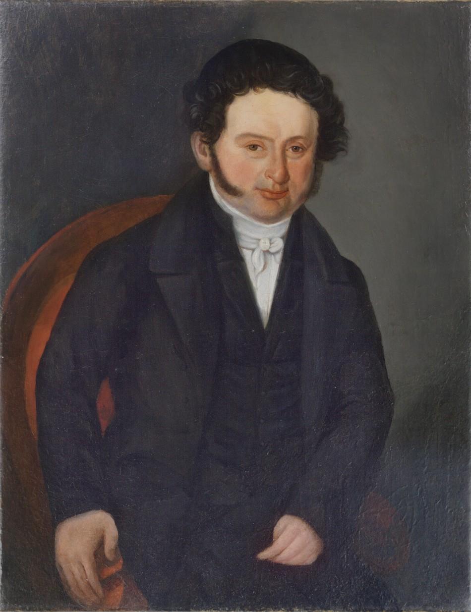 Portrét Mosese Gerstla