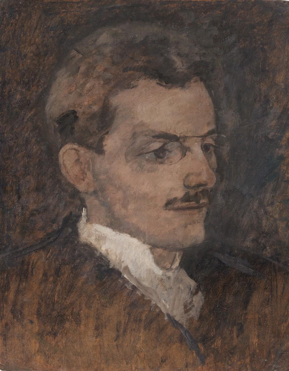 Portrét spisovatele a kritika Maxe Broda