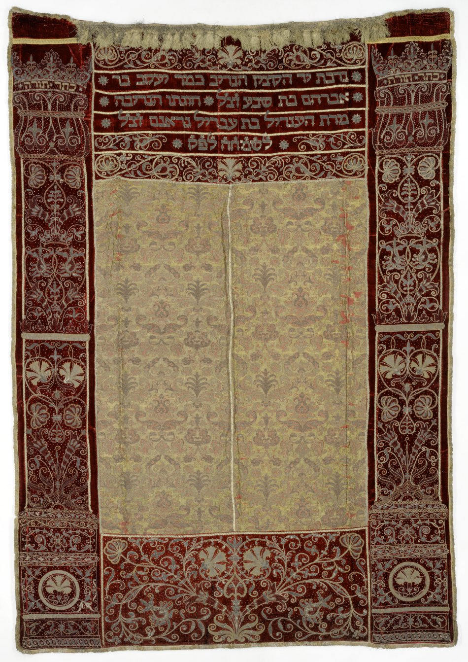 Torah curtain of Jacob Bassevi