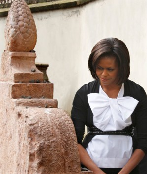 27.jpg - První dáma USA Michelle Obama (2009)