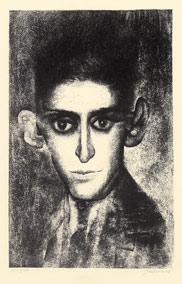 Imaginární portrét Franze Kafky, 1965