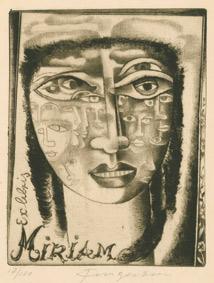 Exlibris Miriam, 1938