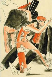 Hella Guthová: Maškarní ples, kolem 1932