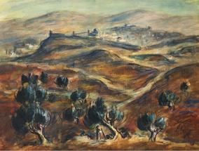 Pohled na Jeruzalém ze severovýchodu, 1932/33