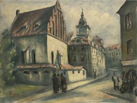 Staronová synagoga II, kolem 1934