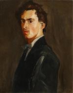 Vlastní podobizna, kolem 1905