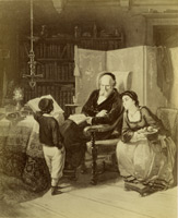 M. D. Oppenheim: Zkouška, kolem 1866