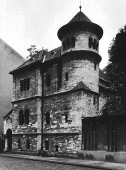 Obřadní budova pohřebního bratrstva v sousedství Starého židovského hřbitova v Praze