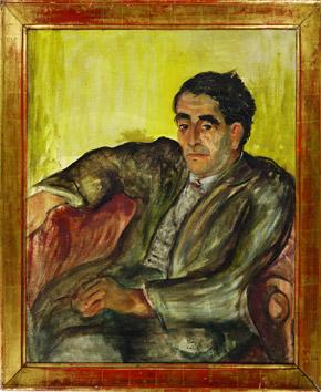 Alžběta Groszová, Portrét dr. Josefa Poláka, 1936