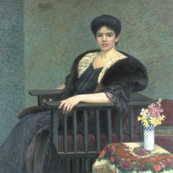 Portrét slečny Evy Buschové, 1908