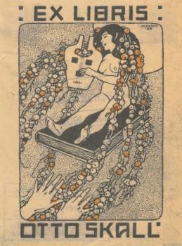 Exlibris Emmy Federerové, 1905