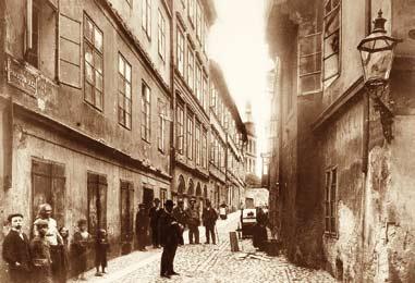 Jan Kříženecký, Pinkasova ulice, 1906-1907