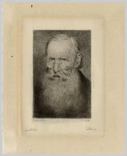 Starý muž Starý muž s plnovousem a brýlemi, 1892