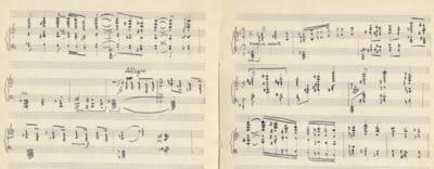 Svítání - melodram na slova básně Fráni šrámka ''Věčný voják'', po r. 1935