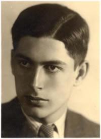 Maturitní fotografie Gideona Kleina, 1938