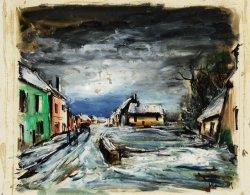 Maurice de Vlaminck: Cesta francouzskou vesnicí, kol. r. 1930