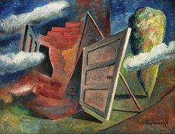 Václav Zikmund: Opuštěný dům, 1934