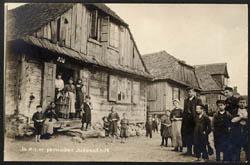 Židovské městečko v Polsku,  1917
